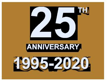 25th anniversary (1995-2020)
