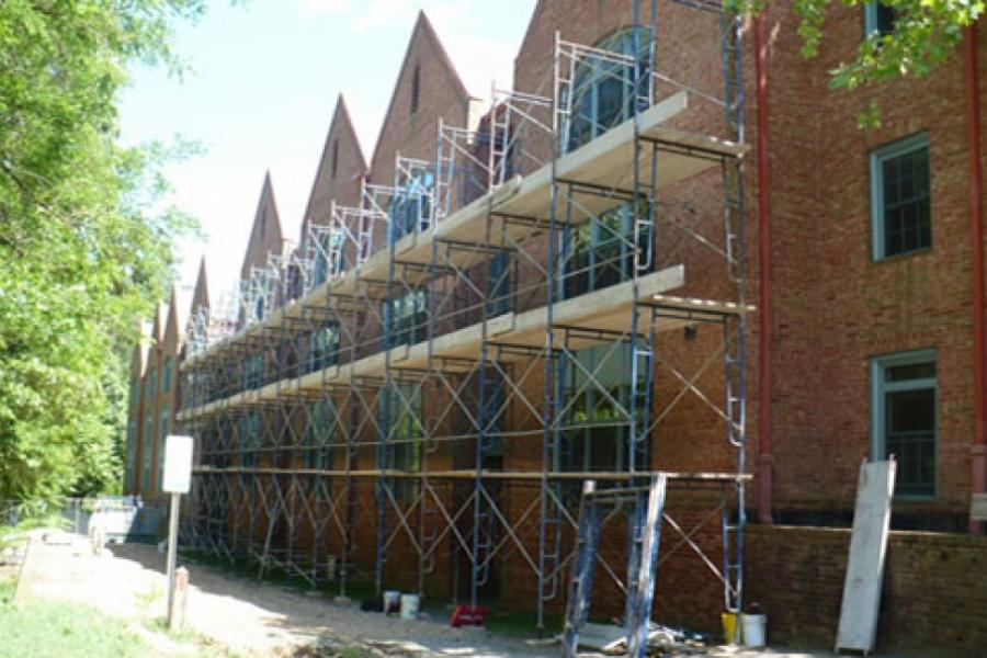 The College of William & Mary Graduate Housing, Facade Repair, Williamsburg, VA