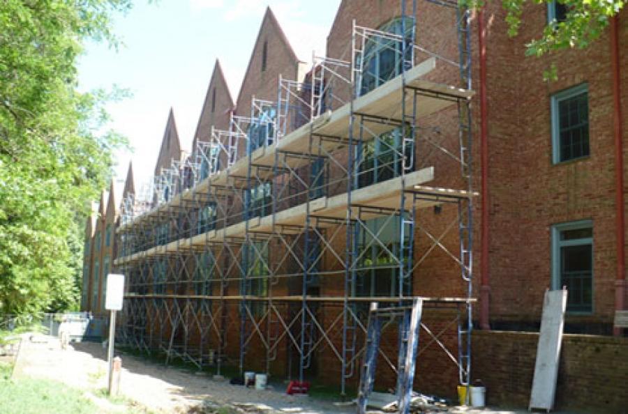 The College of William & Mary Graduate Housing, Facade Repair, Williamsburg, VA