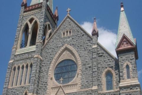 St. Francis of Assisi Church, Facade Investigation, Staunton, VA